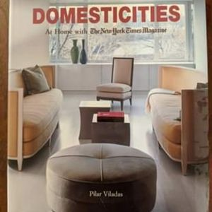 DOMESTICITIES coffee table book